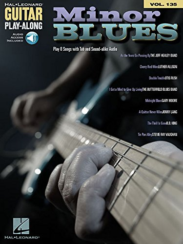 Minor Blues: Guitar Play-Along Volume 135 (Hal Leonard Guitar Play-Along)