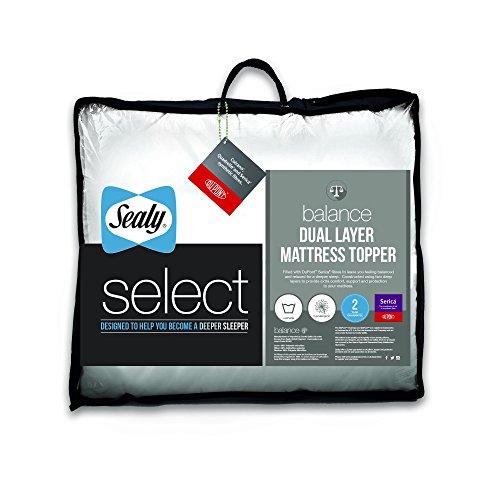 Sealy Select Balance Dual Layer Mattress Topper - King