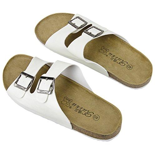 Pantofole Da Spiaggia Estate Delle Donne Degli Uomini Moda Casual Morbido Piattaforma Antisdrucciolevole Casa Sandali Piatti Scarpe Bianche