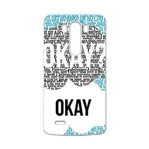 Okay Fashion Comstom Plastic case cover For LG G3