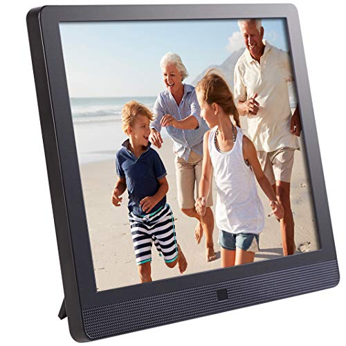 Pix-Star 10 Inch Wi-Fi Cloud Digital Picture Frame with IPS high resolution display, Email, iPhone iOS and Android app, DLNA and Motion Sensor (Black) (E Picture)