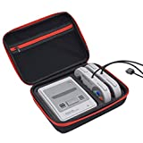 SNES Classic Case, Hard Carrying Case for Super NES Classic Mini Edition(2017), Travel Storage Bag Fits for 2 Controllers, HDMI Cable and other Accessories by MAYBEST.