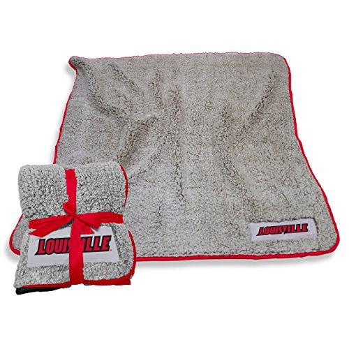 Louisville Blanket - Logo Brands Louisville Cardinals Frosty Fleece Blanket