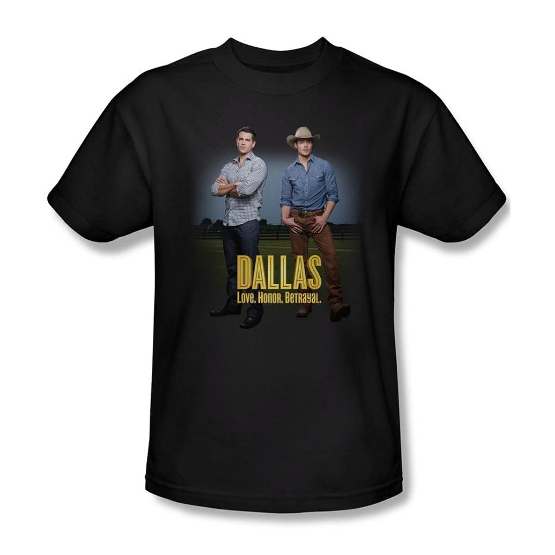 Dallas - Mens The Boys T-Shirt In Black