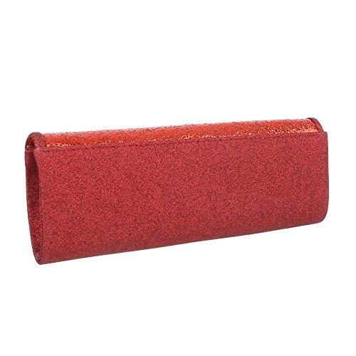 Taschen Schultertasche Abendtasche Rot oov583