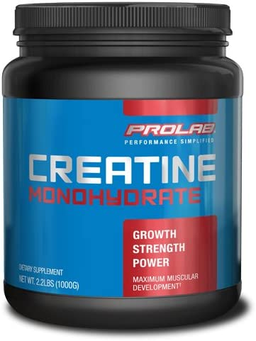PROLAB Creatine Monohydrate Powder, 100 Grams
