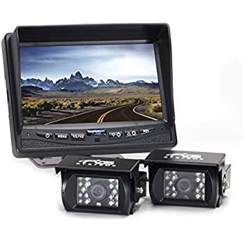 amazon com rear view safety backup camera system with 7\