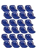 MLB Mini Batting Helmet Ice Cream Sundae/ Snack Bowls, Rangers - 24 Pack