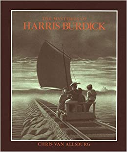 The book The Mysteries of Harris Burdick by Chris Van Allsburg gives students TONS of picture inspiration for their own writing
