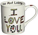 "Our Name is Mud ""I'll Always Love You"" Cuppa Doodle Porcelain Mug, 16 oz."