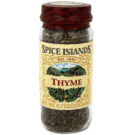 Spice Islands Thyme, .7 oz (Pack of 3)
