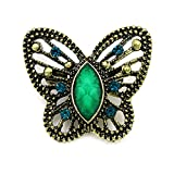 Best Pc Brands - 2 PCS/LOT Brand Antique Brass Plated Crystal Rhinestone Review