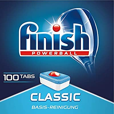 Finish Classic - Pastillas para lavavajillas: Amazon.es: Salud y ...