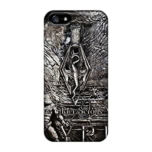 New Diy Design Skyrim For Iphone 5/5s Cases Comfortable For Lovers And Friends For Christmas Gifts