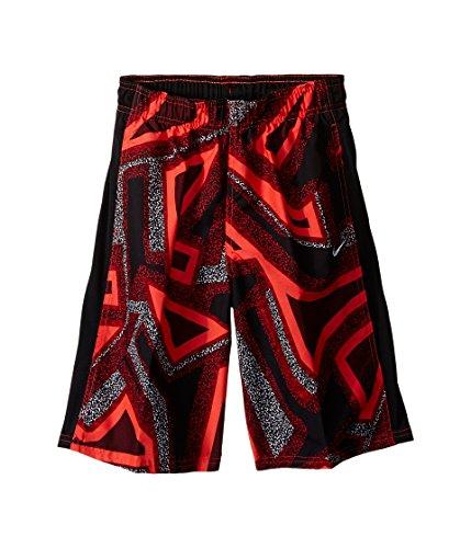 Nike Kids Fusion 9 Volley Swim Trunk Big Kids Bright Crimson Boy's Swimwear