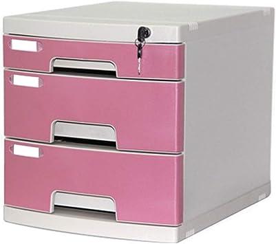 Gabinete de Oficina Caja de Almacenamiento de Almacenamiento de Archivos de Escritorio A4 de 3 cajones: Amazon.es: Electrónica