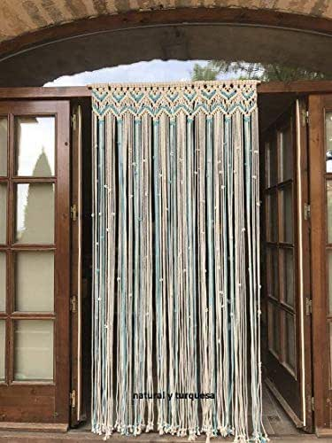cortina de macrame 8: Amazon.es: Handmade