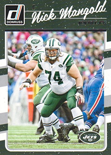 2016 Donruss Football #210 Nick Mangold New York -