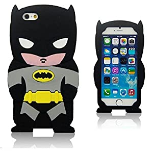 iPhone 6 case,3D Batman Silicone Jelly Soft Skin Case Cover for iPhone 6 4.7inch at Gotham City Store