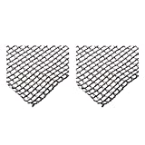zwan Deluxe 20 x 20 Foot Heavy Duty Backyard Fish Pond Netting Cover (2 Pack) with Ebook