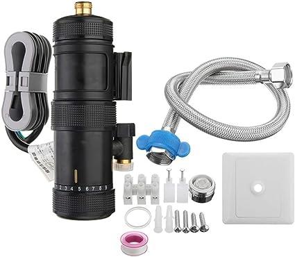 Riscaldatore di Acqua Elettrico istantaneo Doccia Panel Kit Sistema di Riscaldamento Bagno 220V