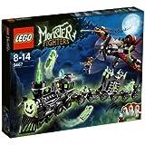 LEGO Monster Fighters - 9467 - Jeu de Construction - Le Train Fantôme