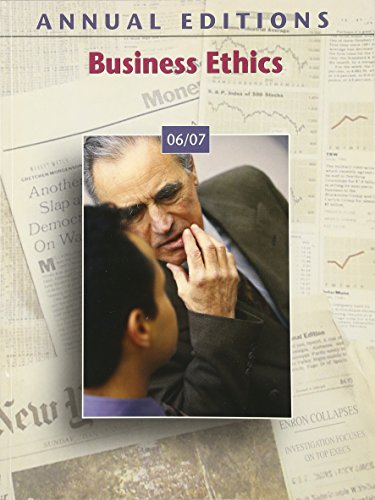 Annual Editions: Business Ethics 06/07