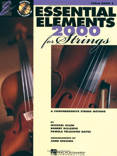 Essential Elements 2003 Book - Essentials Elements 2000 For Strings by Allen, Michael, Gillespie, Robert, Hayes, Pamela Tellejohn. (Hal Leonard Corp,2003) [Paperback]