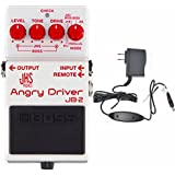 Boss JHS JB-2 Angry Driver and Boss PSA-120S2 Power Supply