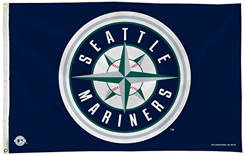 fan products of MLB Seattle Mariners 3-Foot by 5-Foot Banner Flag