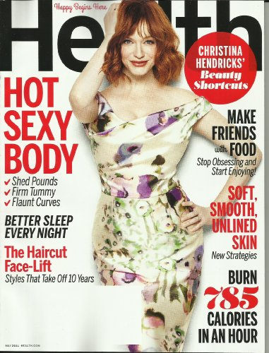 Health Magazine May 2014 {Christina Hendricks on the Cover }