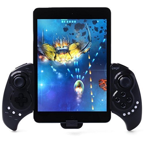 Ipega PG-9023 Wireless Bluetooth Game Controller Gamepad for iPhone iPod iPad iOS System, Samsung Galaxy Note Android Tablet Pcs by ipega