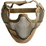 AZDENT® Wargame CS Protection Guard Mesh Lower Face Mask