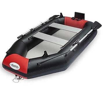 Bote Inflable para 2 Personas con Motor eléctrico Kayak Canoa ...