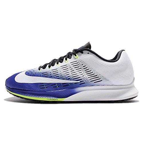 - Nike Men's Air Zoom Elite 9 Blue Synthetic Leather Running Shoe 11
