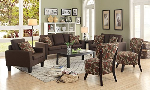 Coaster 504767 Home Furnishings Sofa, Chocolate