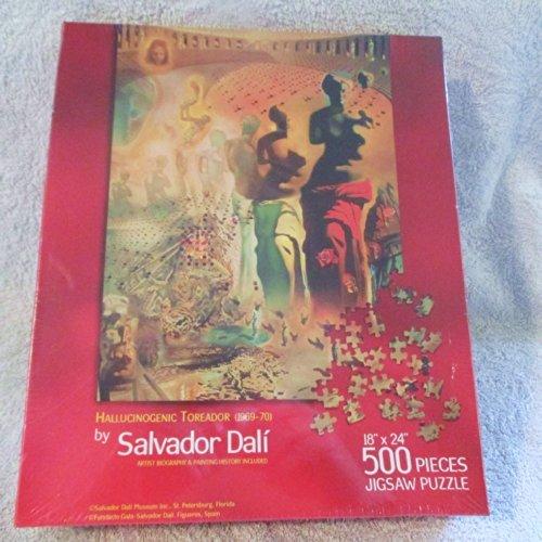 Hallucinogenic Toreador (1969-70) Jigsaw Puzzle by Salvador Dali (500 pieces - 18