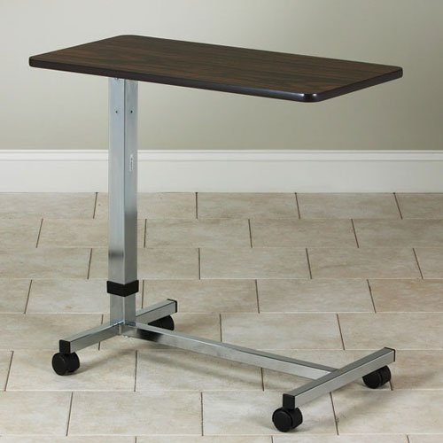 Clinton H-Base Gray, Over Bed Table by Clinton