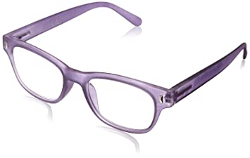 591ca1581e46 Image Unavailable. Image not available for. Color: Foster Grant Women's  Angie Purple 1017878-.COM Reading Glasses ...