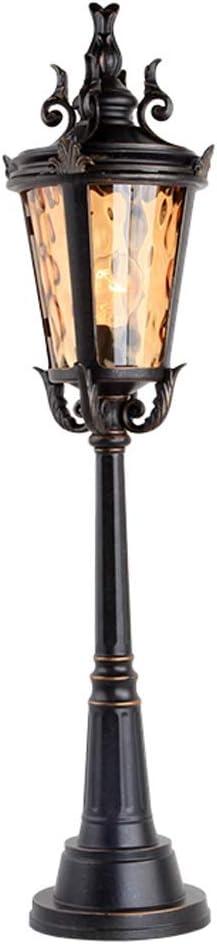 Xu Yuan Jia-Shop Lámparas Farola Lámpara de jardín for jardín Exterior 0.9 M Lámpara de Columna for Paisaje Exterior Lámpara de Piso for Parque lluminacion Exterior