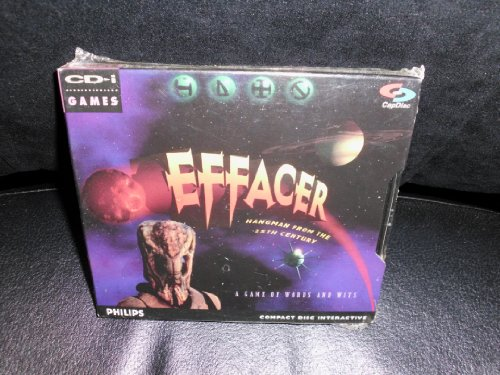 Effacer - Game of Words and Wits - CD Interactive Video Game 1994
