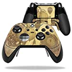 MightySkins Skin Compatible with Microsoft Xbox One Elite Controller - Steam Punk Paper | Protective, Durable, and Unique Vinyl wrap Cover | Easy to Apply, Remove, and Change Styles | Made in The USA 5