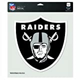 NFL Oakland Raiders 8-by-8 Inch Diecut Colored Decal