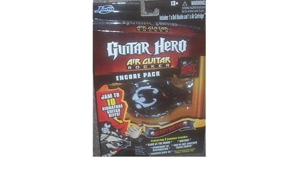 Guitar Hero Air Guitar Rocker Encore Pack Heavy Metal by Jada: Amazon.es: Juguetes y juegos