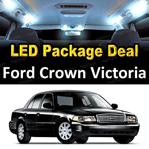 LED Interior Package Deal for 2006 Ford Crown Victoria (8 Pieces), ()