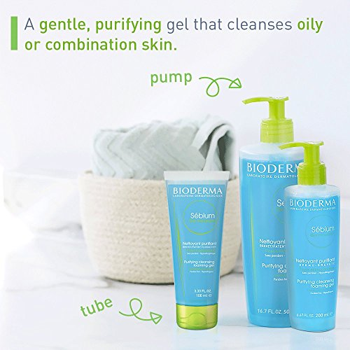 Bioderma Sebium Foaming Gel Facial Cleanser for Combination to Oily Skin 2