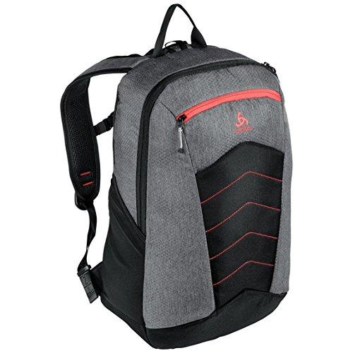 Odlo Active Backpack - Grey melang/Chinese red