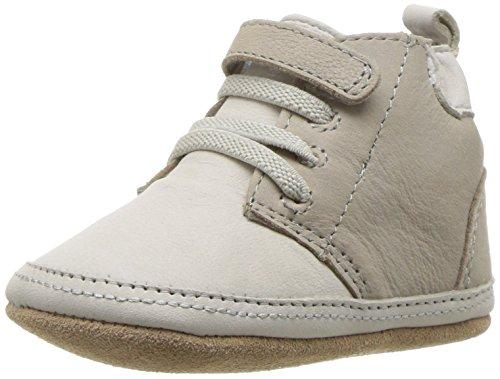 Robeez Boys' Elijah Boot, Cool Grey, 12-18 Months M US Infant
