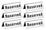 Reserved Table Signs 4.75x1.75 - 12 Pack