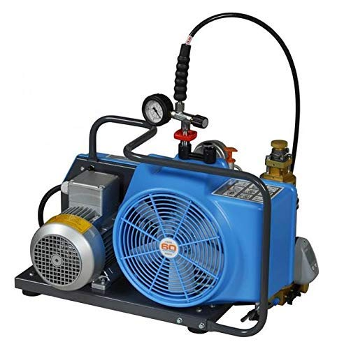 (HPDAVV 300bar Scuba Diving Portable Air Compressor Household,4500psi Compressor Diving Compressor,Paintball Fill Station For Filling Bottles,Conforming to Standards of EN 12021 and GB18435-2001)